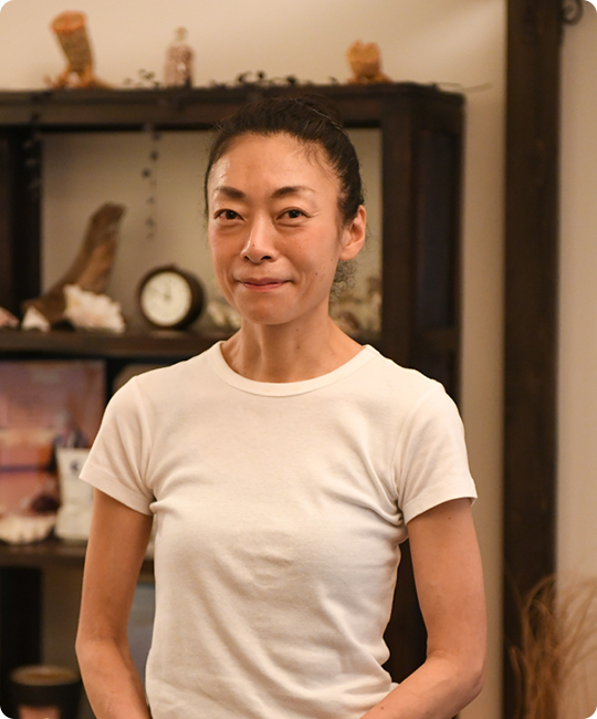 「KO'a」 オーナーセラピスト 加藤 亜沙子