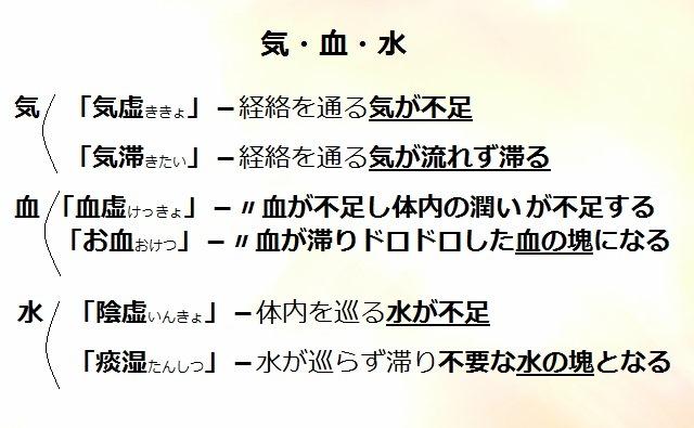 東洋医学体質分類2